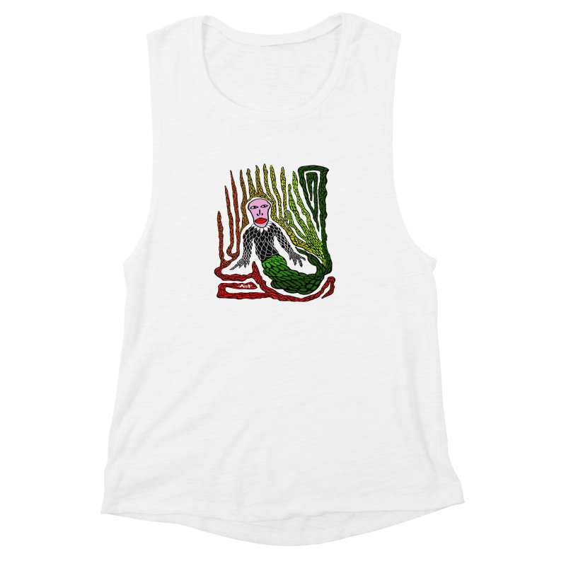 The Genius birdman Women's Muscle Tank by antartant's Artist Shop
