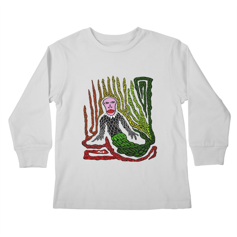 The Genius birdman Kids Longsleeve T-Shirt by antartant's Artist Shop