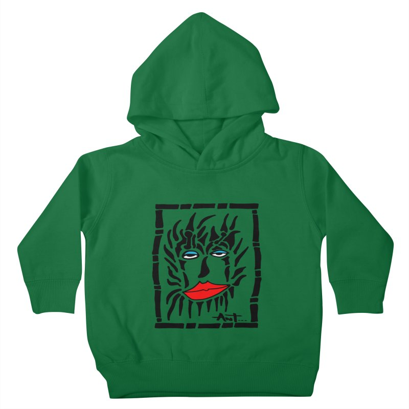Lion Face Kids Toddler Pullover Hoody by antartant's Artist Shop
