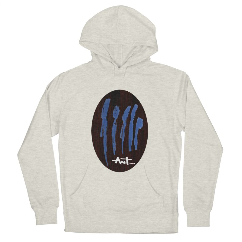 Peoples are abstract Wood Women's French Terry Pullover Hoody by antartant's Artist Shop