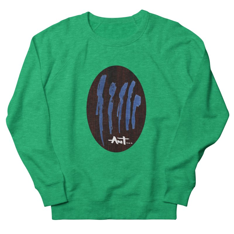 Peoples are abstract Wood Men's French Terry Sweatshirt by antartant's Artist Shop