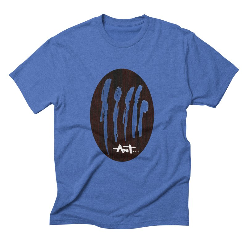 Peoples are abstract Wood Men's Triblend T-Shirt by antartant's Artist Shop