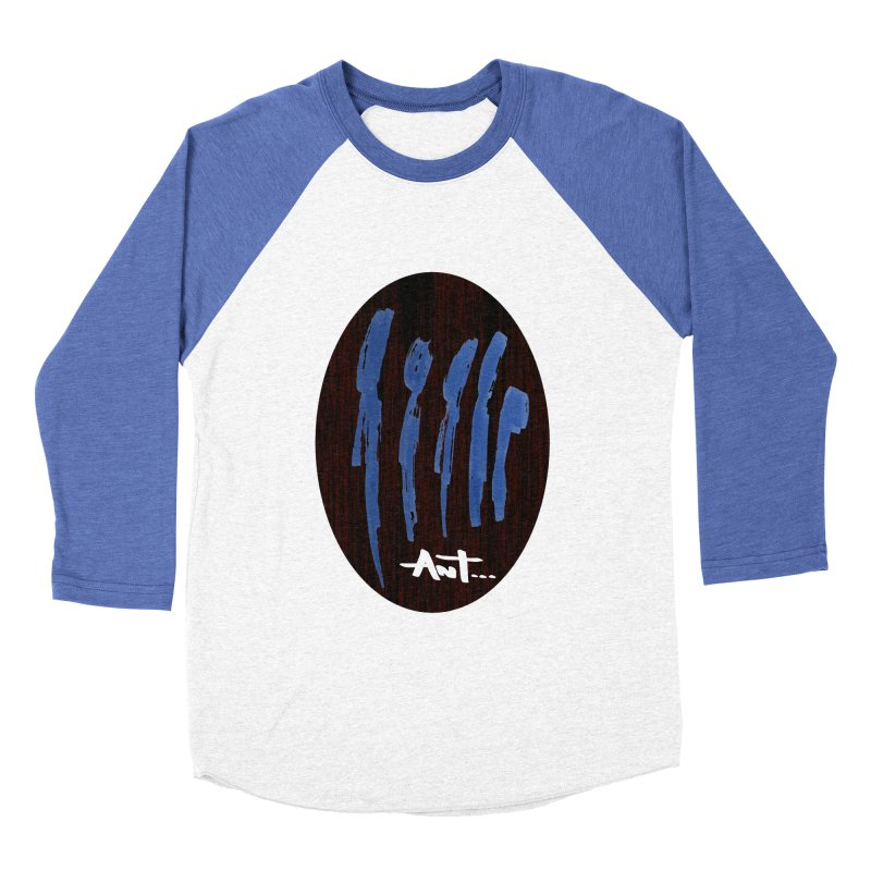 Peoples are abstract Wood Women's Baseball Triblend T-Shirt by antartant's Artist Shop