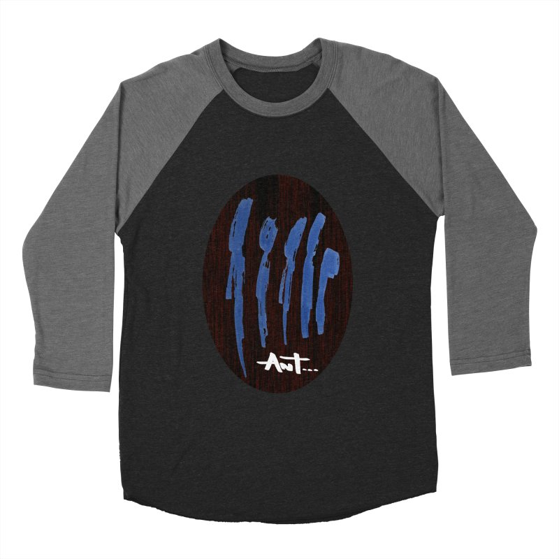 Peoples are abstract Wood Women's Baseball Triblend Longsleeve T-Shirt by antartant's Artist Shop