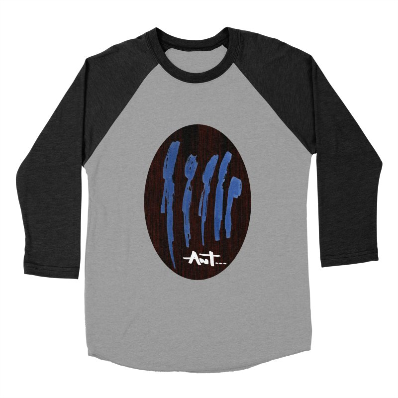 Peoples are abstract Wood Men's Baseball Triblend Longsleeve T-Shirt by antartant's Artist Shop