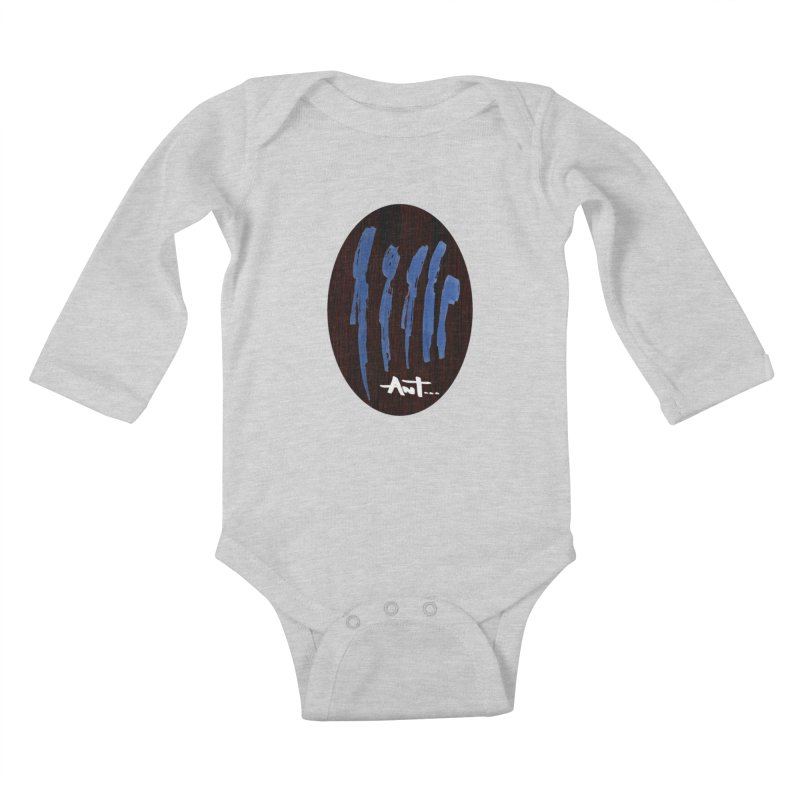 Peoples are abstract Wood Kids Baby Longsleeve Bodysuit by antartant's Artist Shop