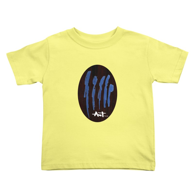 Peoples are abstract Wood Kids Toddler T-Shirt by antartant's Artist Shop