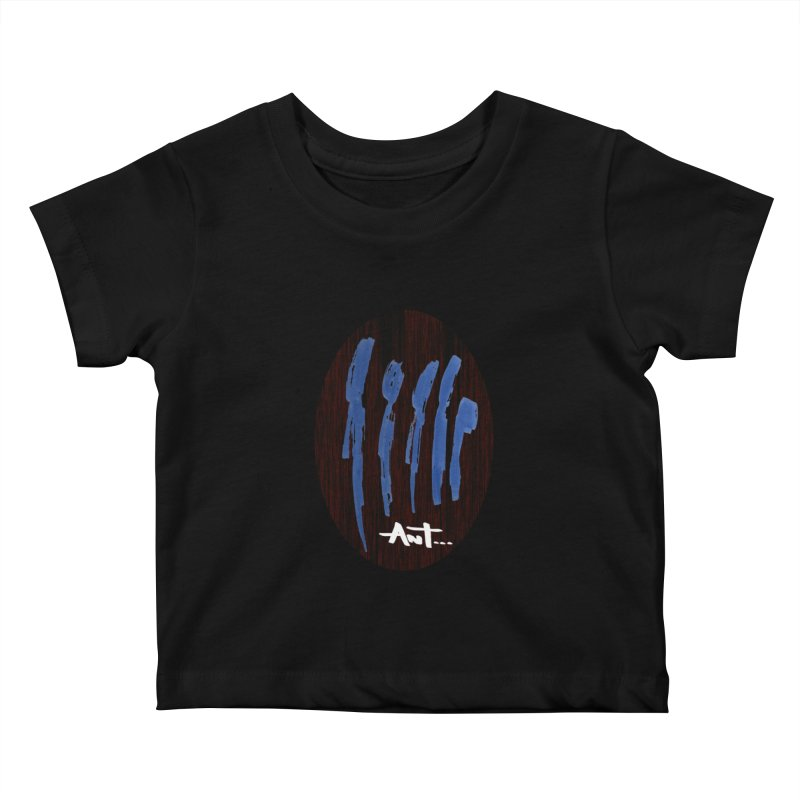 Peoples are abstract Wood Kids Baby T-Shirt by antartant's Artist Shop