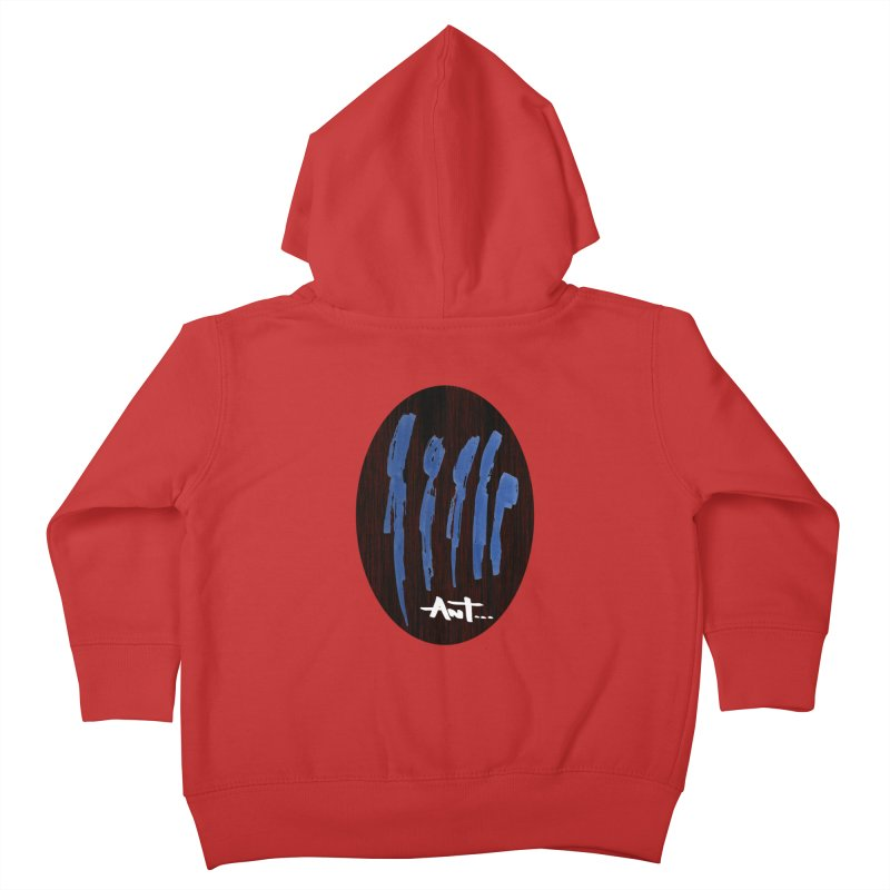 Peoples are abstract Wood Kids Toddler Zip-Up Hoody by antartant's Artist Shop