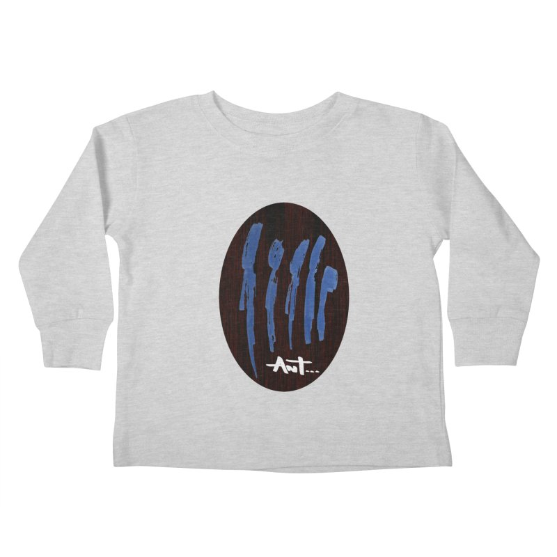 Peoples are abstract Wood Kids Toddler Longsleeve T-Shirt by antartant's Artist Shop