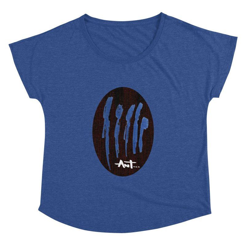 Peoples are abstract Wood Women's Dolman Scoop Neck by antartant's Artist Shop