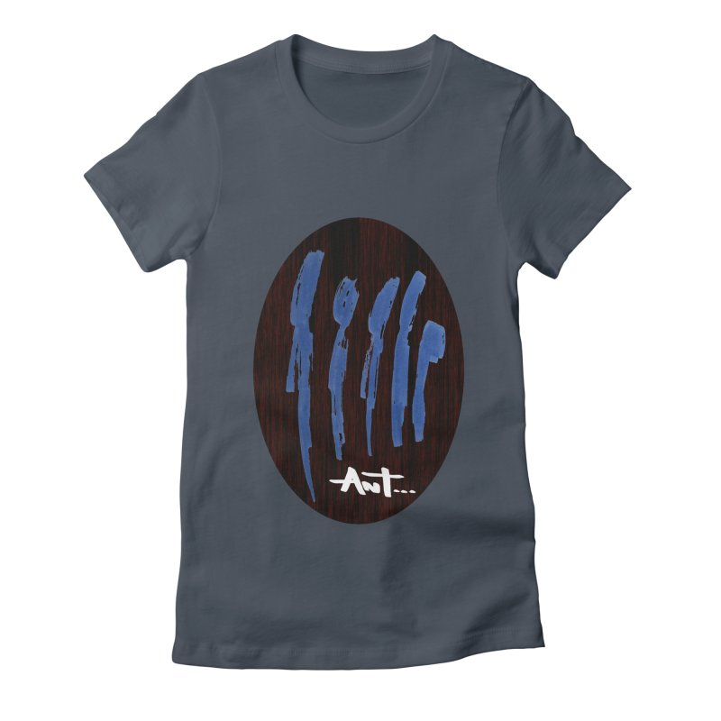 Peoples are abstract Wood Women's T-Shirt by antartant's Artist Shop