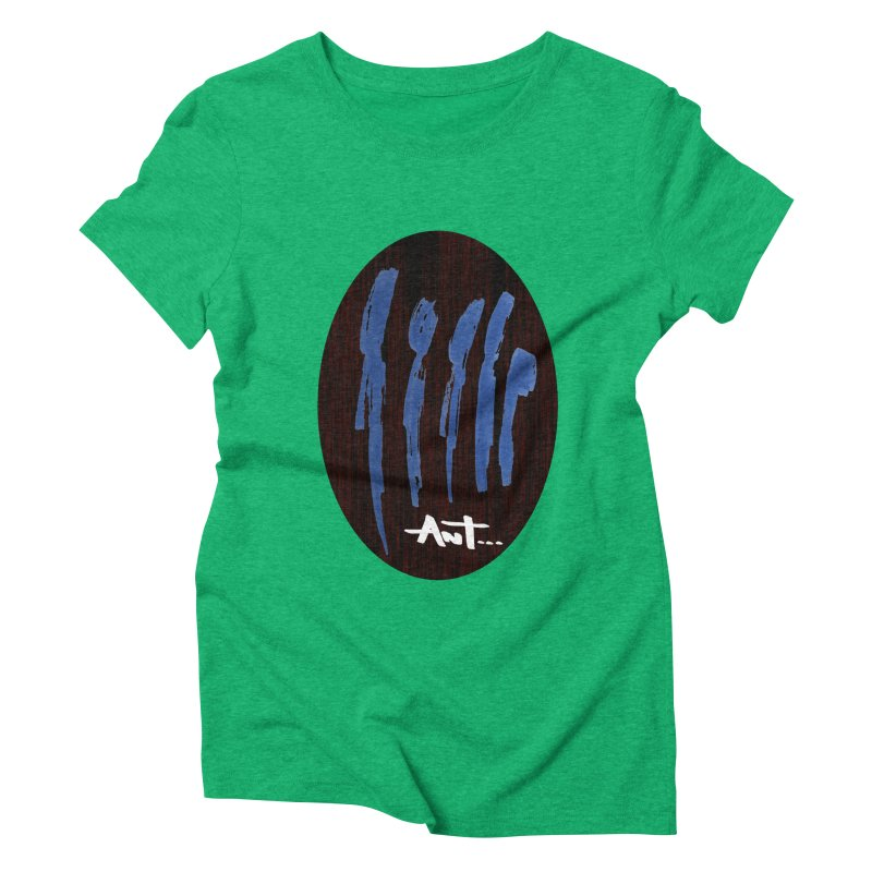 Peoples are abstract Wood Women's Triblend T-Shirt by antartant's Artist Shop