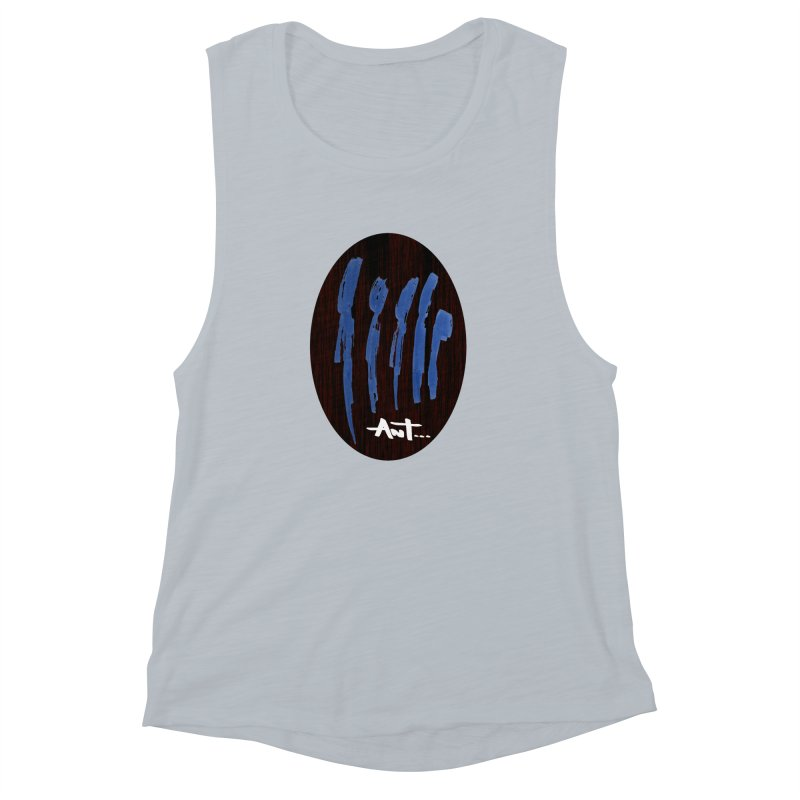 Peoples are abstract Wood Women's Muscle Tank by antartant's Artist Shop