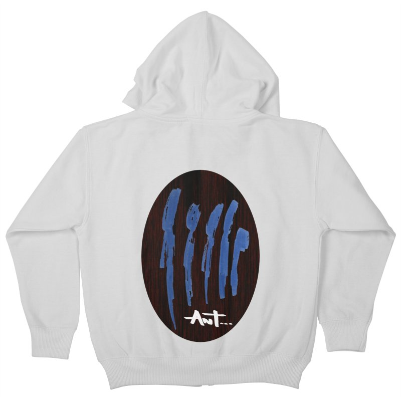 Peoples are abstract Wood Kids Zip-Up Hoody by antartant's Artist Shop