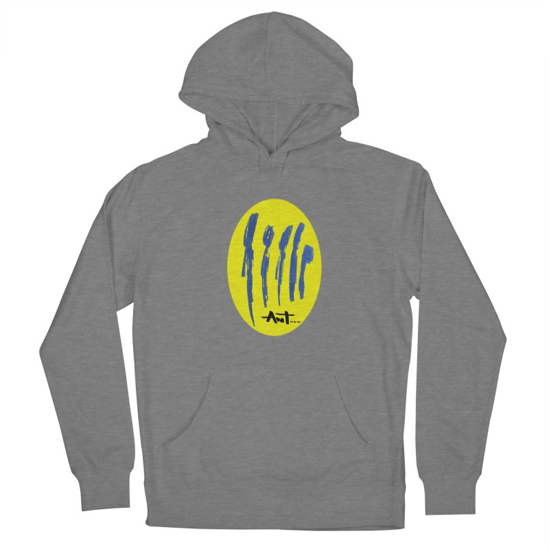Peoples are abstract yellow Women's French Terry Pullover Hoody by antartant's Artist Shop