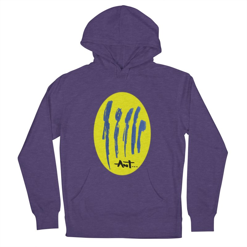 Peoples are abstract yellow Men's Pullover Hoody by antartant's Artist Shop
