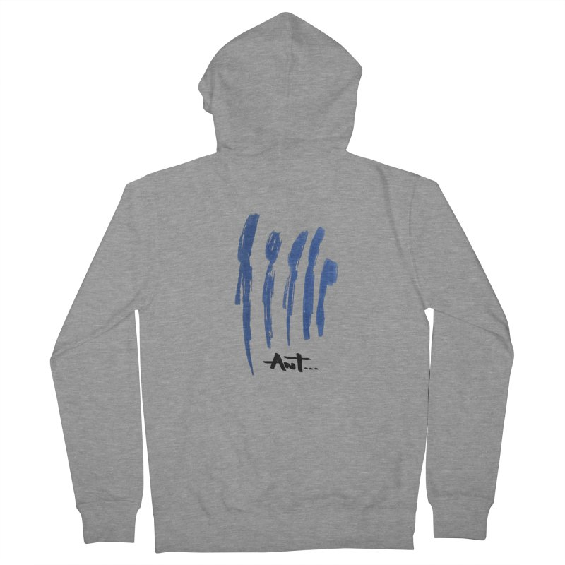 Peoples are abstract no background Women's Zip-Up Hoody by antartant's Artist Shop