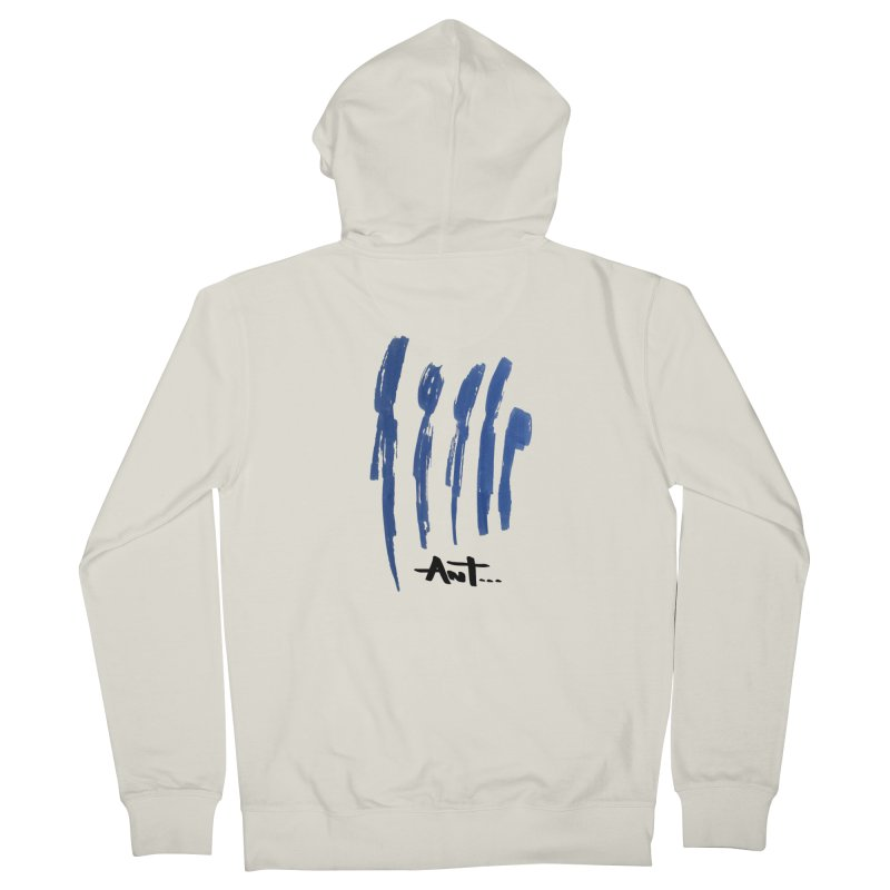 Peoples are abstract no background Men's Zip-Up Hoody by antartant's Artist Shop