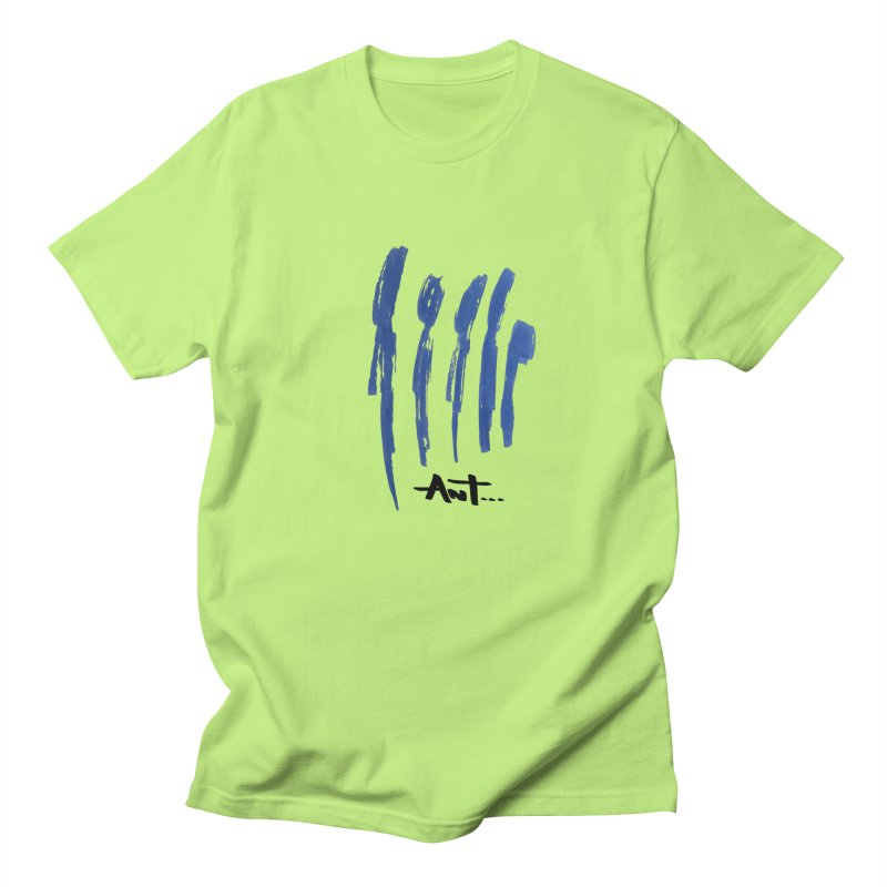 Peoples are abstract no background Men's T-Shirt by antartant's Artist Shop
