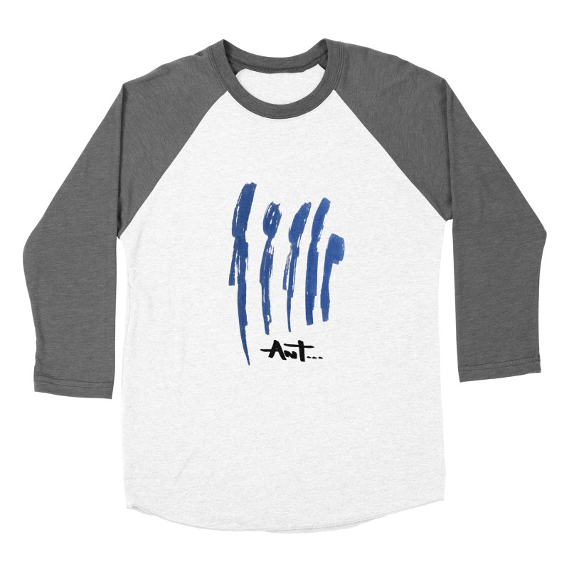 Peoples are abstract no background Women's Baseball Triblend Longsleeve T-Shirt by antartant's Artist Shop
