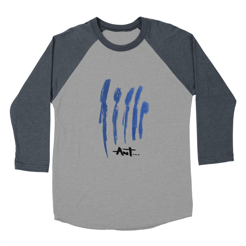 Peoples are abstract no background Men's Baseball Triblend T-Shirt by antartant's Artist Shop
