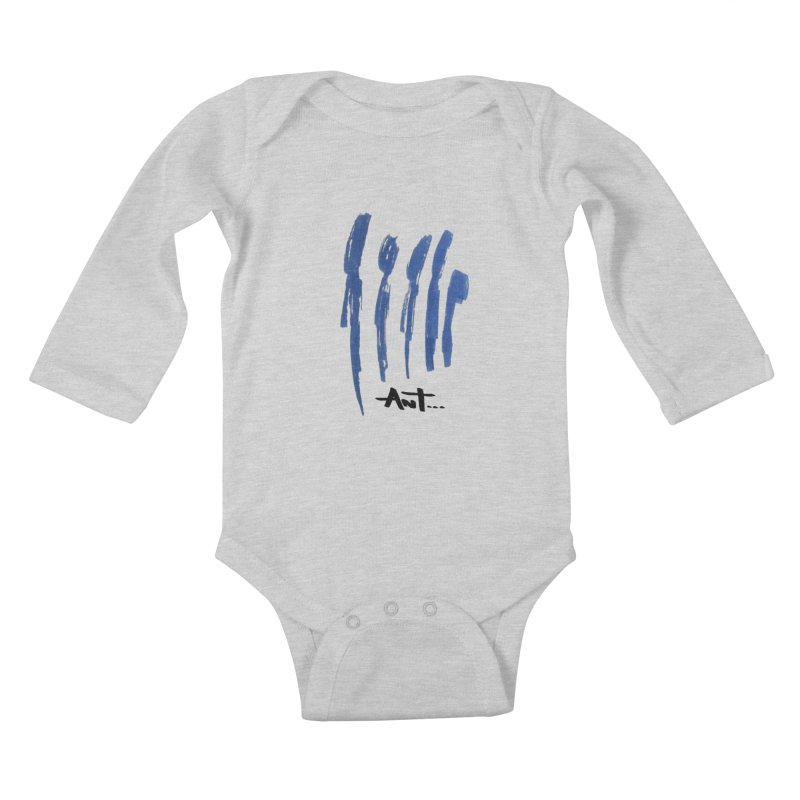 Peoples are abstract no background Kids Baby Longsleeve Bodysuit by antartant's Artist Shop