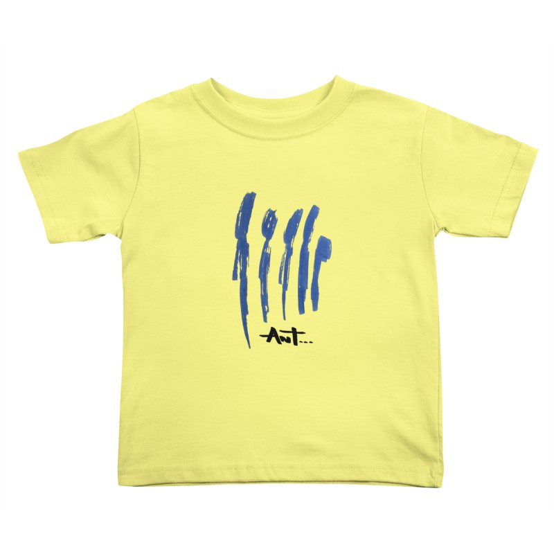 Peoples are abstract no background Kids Toddler T-Shirt by antartant's Artist Shop