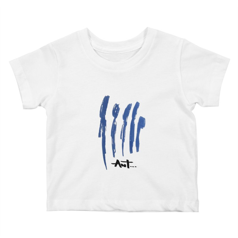 Peoples are abstract no background Kids Baby T-Shirt by antartant's Artist Shop