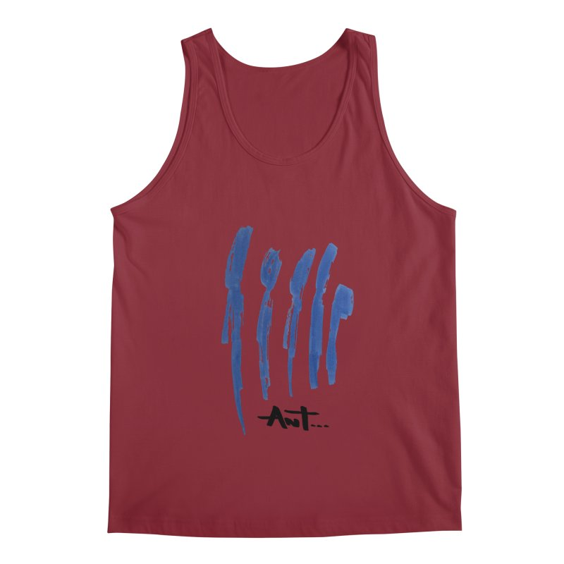 Peoples are abstract no background Men's Tank by antartant's Artist Shop