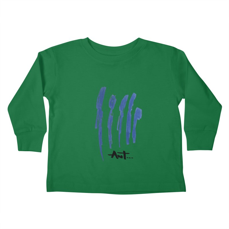 Peoples are abstract no background Kids Toddler Longsleeve T-Shirt by antartant's Artist Shop