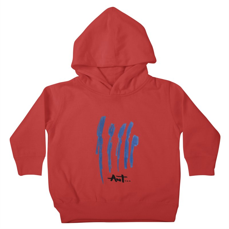 Peoples are abstract no background Kids Toddler Pullover Hoody by antartant's Artist Shop