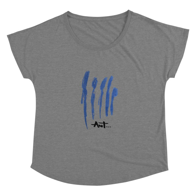 Peoples are abstract no background Women's Scoop Neck by antartant's Artist Shop