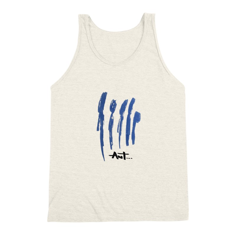 Peoples are abstract no background Men's Triblend Tank by antartant's Artist Shop