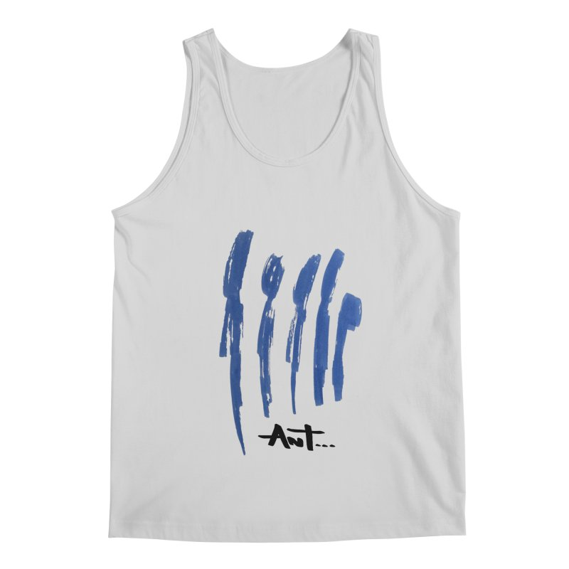 Peoples are abstract no background Men's Regular Tank by antartant's Artist Shop