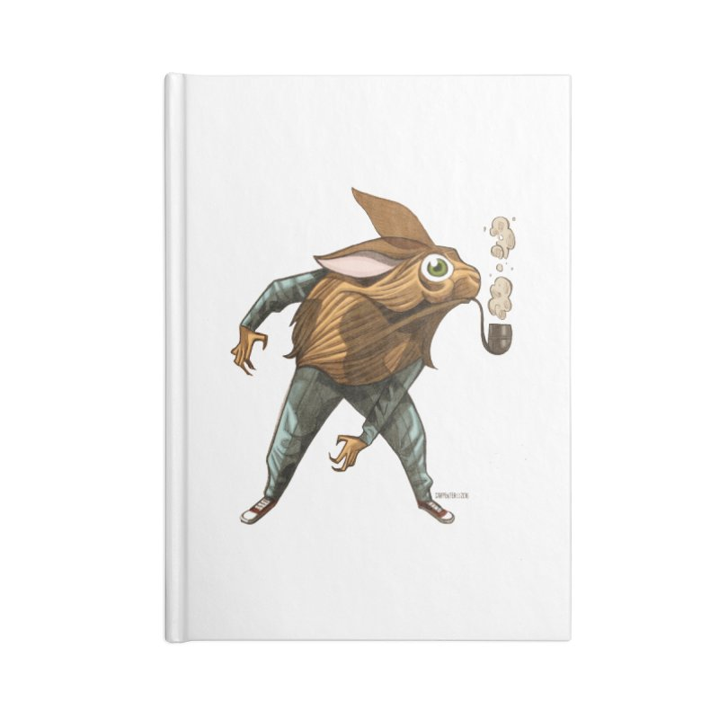 Harvey Accessories Notebook by Illustrationsville!