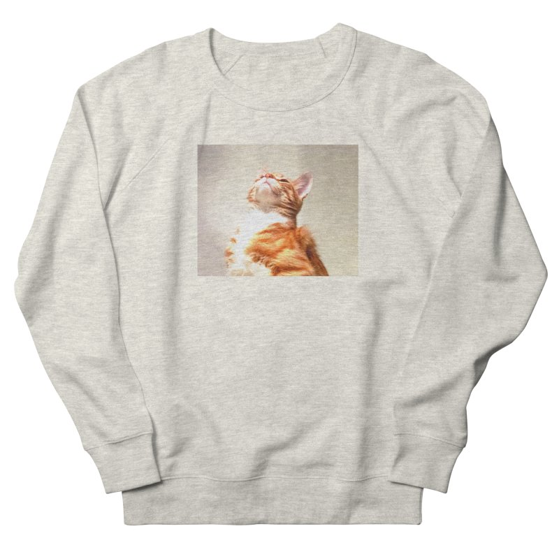 Pelage in Women's French Terry Sweatshirt Heather Oatmeal by Anthony Inswasty