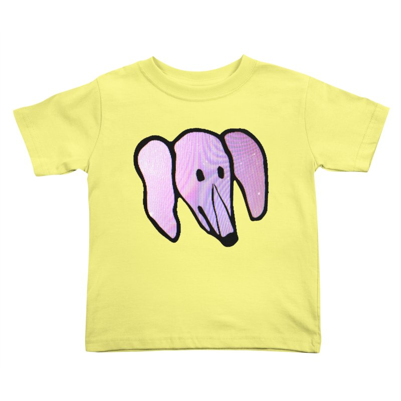 Snoot in Kids Toddler T-Shirt Lemon by Anthony Inswasty