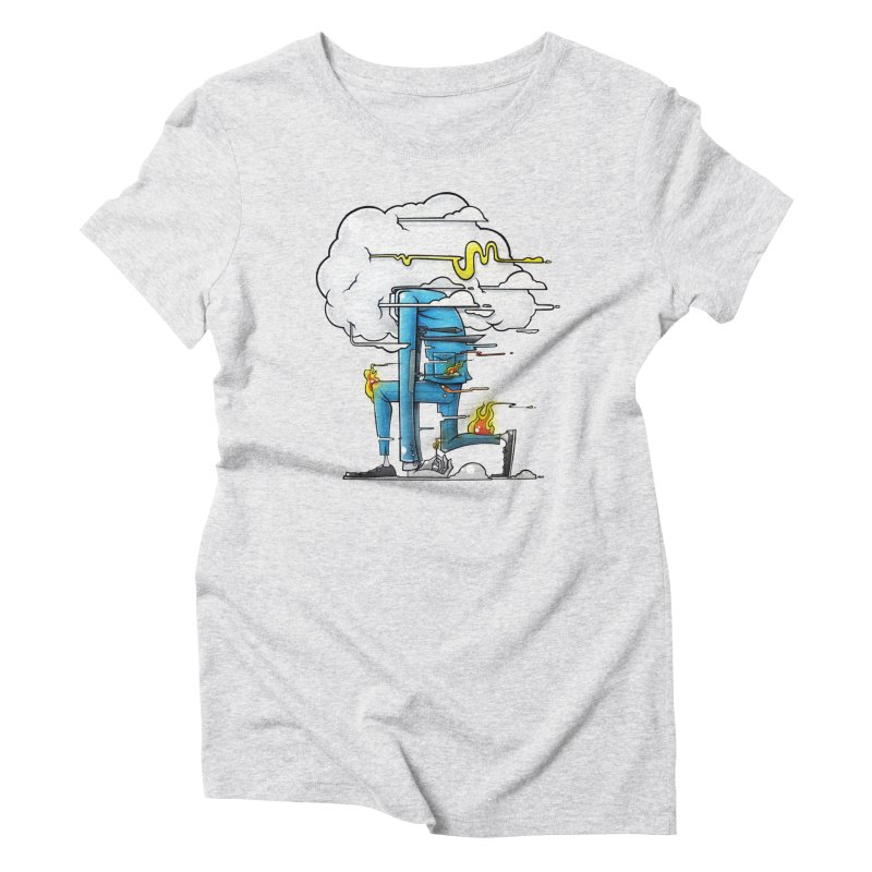 Can't Sit Still Women's Triblend T-Shirt by Anthony Lewellen