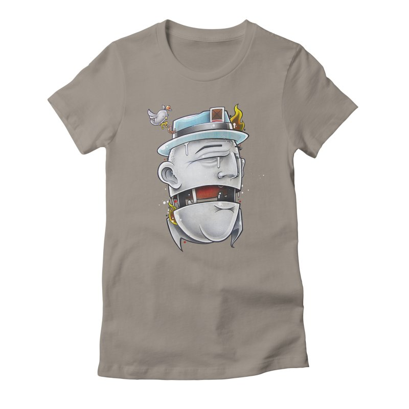 Don't Know Women's Fitted T-Shirt by Anthony Lewellen