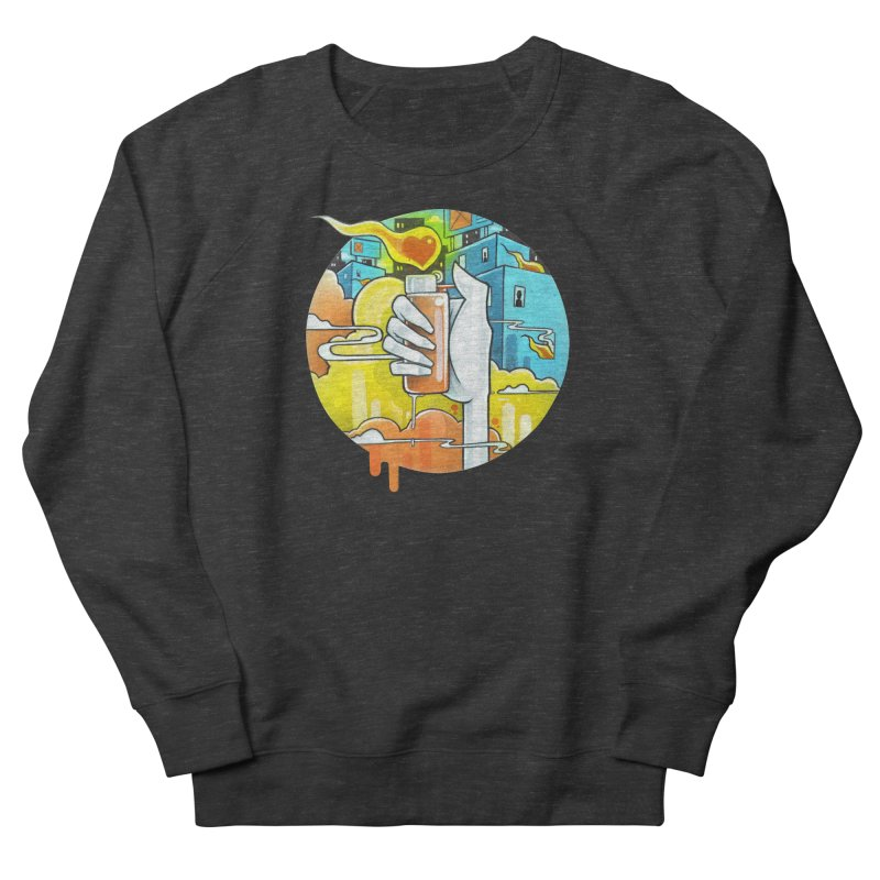Fuel for the Fire Men's Sweatshirt by Anthony Lewellen