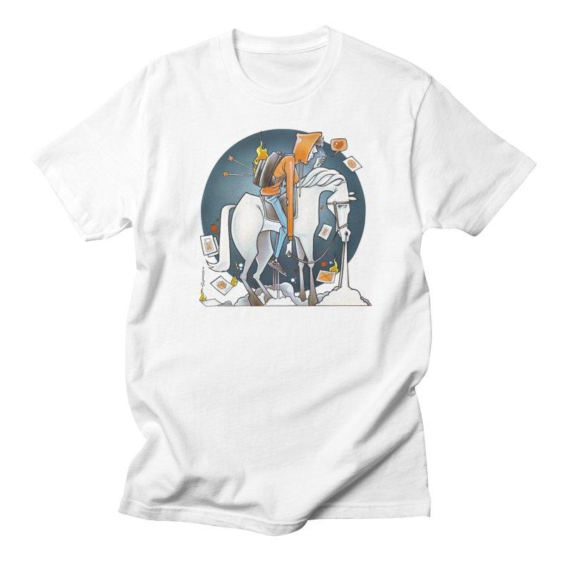 The Last Draw Men's T-Shirt by Anthony Lewellen