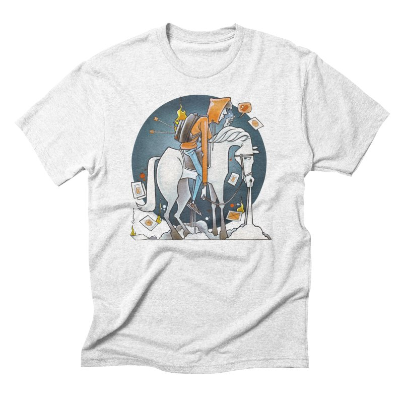 The Last Draw Men's Triblend T-shirt by Anthony Lewellen