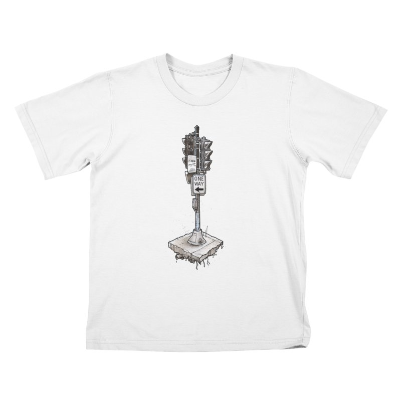The Neighborhoods Changed Kids T-Shirt by Anthony Lewellen