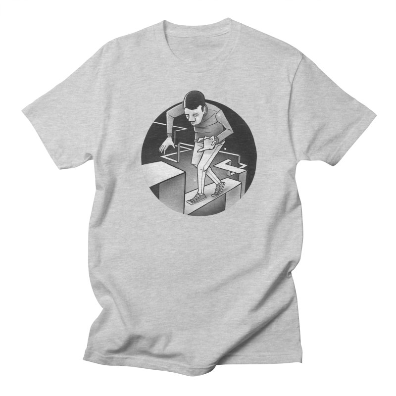 Ups and Downs Men's T-Shirt by Anthony Lewellen