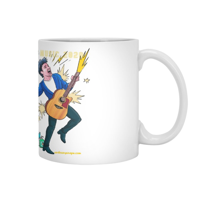 LIVE Merch 2020 Accessories Mug by Music Artist Anthony Snape