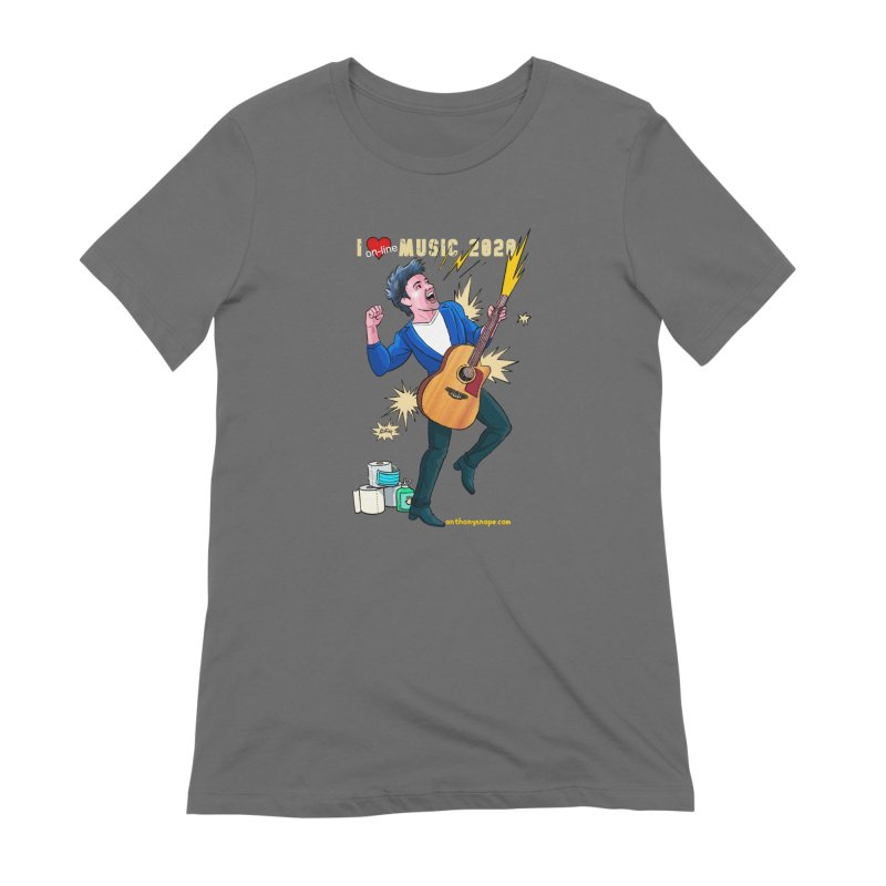 LIVE Merch 2020 Women's T-Shirt by Music Artist Anthony Snape