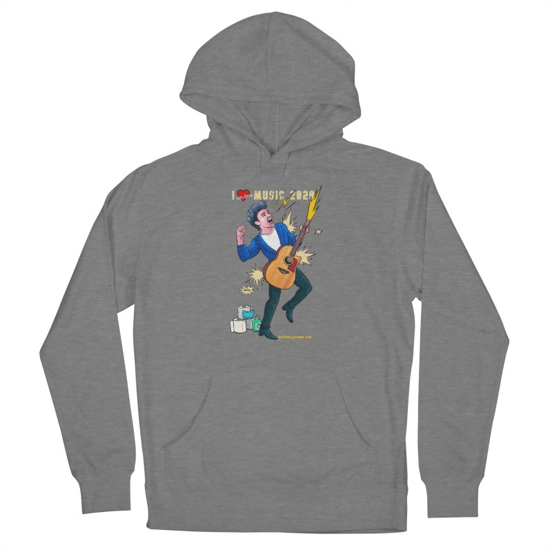 LIVE Merch 2020 Men's Pullover Hoody by Music Artist Anthony Snape