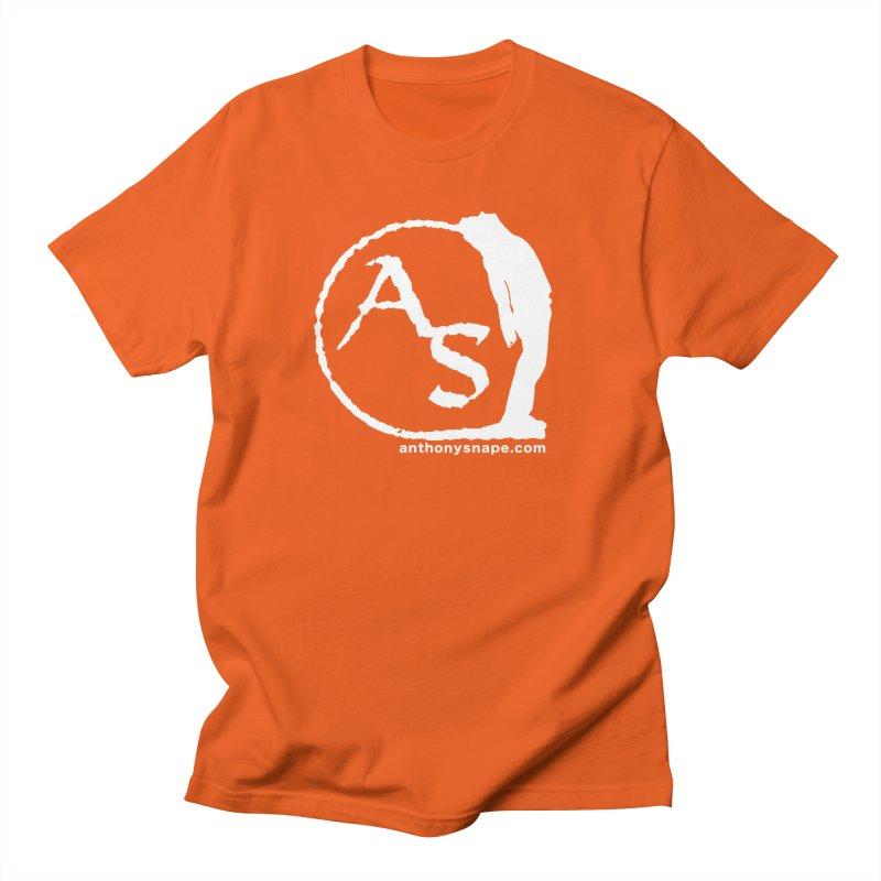 AS LOGO Print anthonysnape.com Men's T-Shirt by Music Artist Anthony Snape