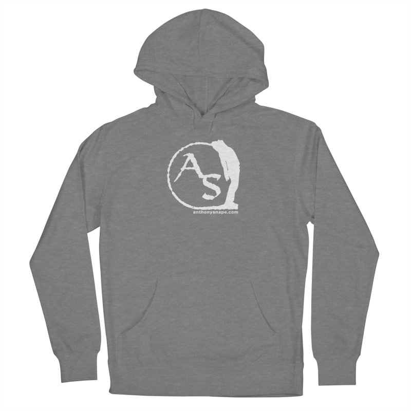 AS LOGO Print anthonysnape.com Women's Pullover Hoody by Music Artist Anthony Snape